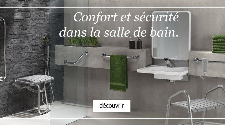 Confort et sécurité dans la salle de bain