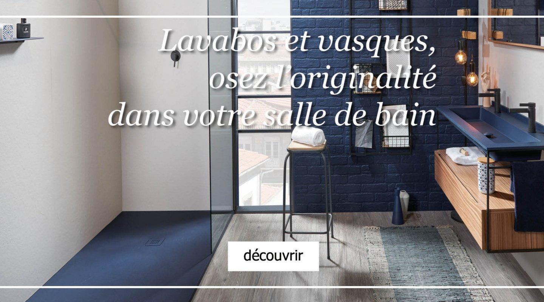 Lavabos et vasques, osez l'originalité dans votre salle de bain