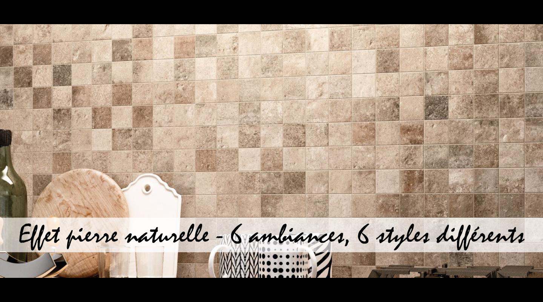 Le carrelage effet pierre naturelle : six ambiances, six styles différents
