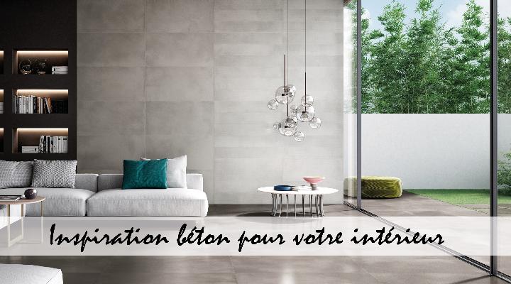 Inspiration béton pour votre intérieur