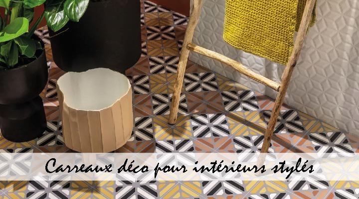 Les carreaux déco pour donner du style à votre intérieur