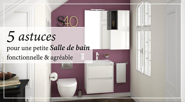 20 astuces pour une petite salle de bain fonctionnelle et agréable