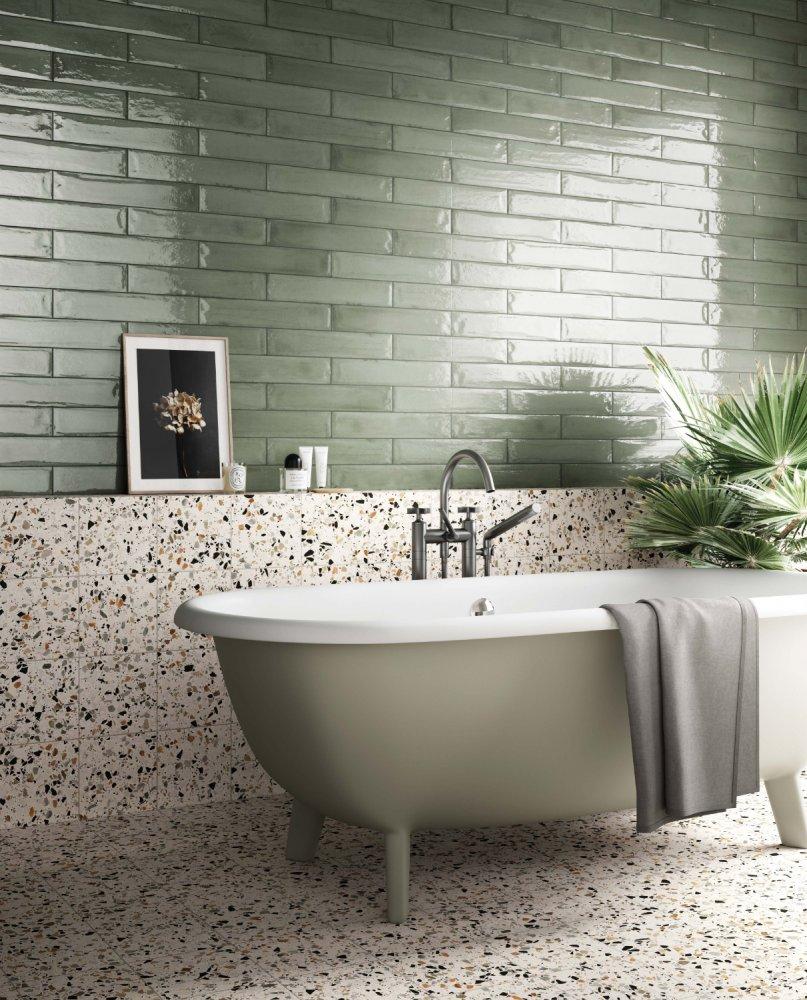 Salle De Bain Motif adopter la tendance végétal dans sa salle de bain
